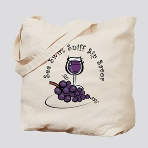 Red Wine 5 S's Tote Bag