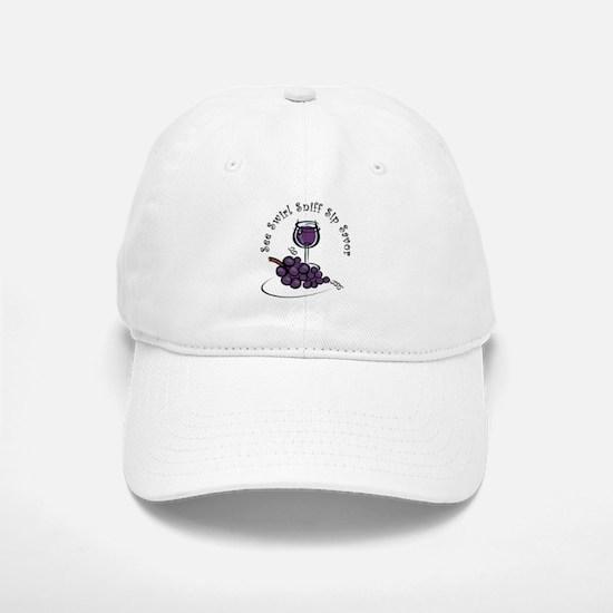 Red Wine 5 S's Baseball Baseball Cap