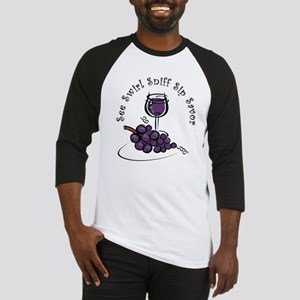 Red Wine 5 S's Baseball Jersey