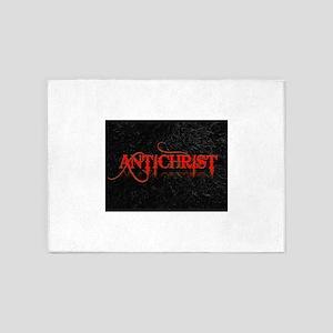 antichrist 5'x7'Area Rug