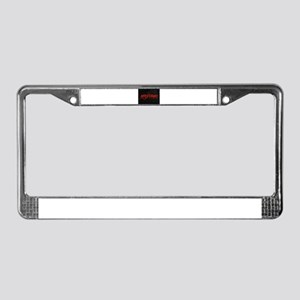 antichrist License Plate Frame