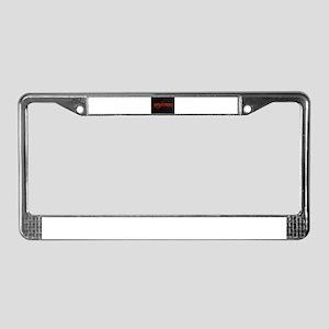 antichrist License Plate Frame