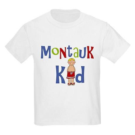 Montauk Kid Boy Kids Light T-Shirt