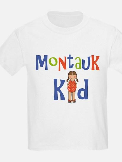 Montauk Kid Girls T-Shirt