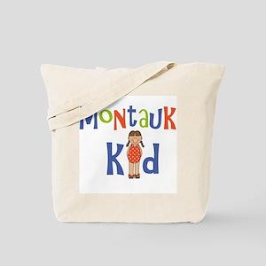 Montauk Kid Girls Tote Bag