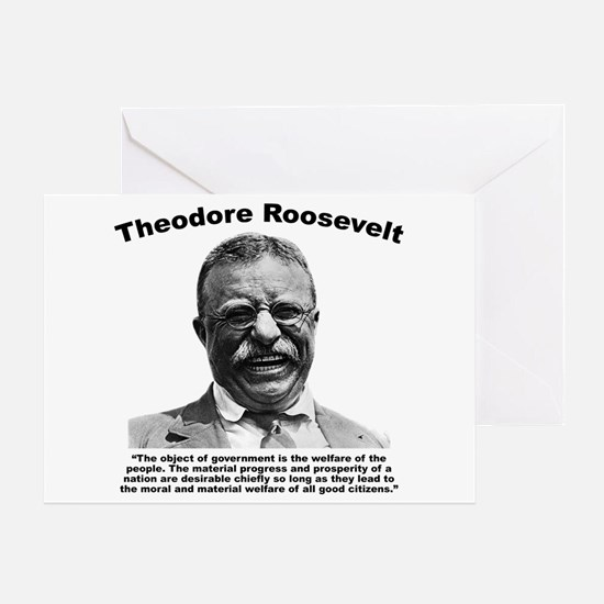 TRoosevelt: Welfare Greeting Card