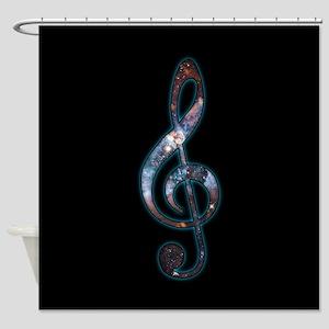 Music is Universal Shower Curtain