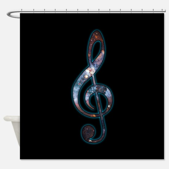 Music is Universal Shower Curtain