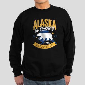 Alaska is Calling And I Must Go Shirt Sweatshirt