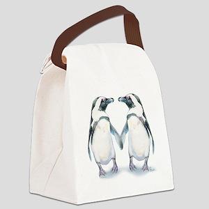 Penguin Pals Canvas Lunch Bag