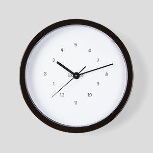 UK Time Wall Clock