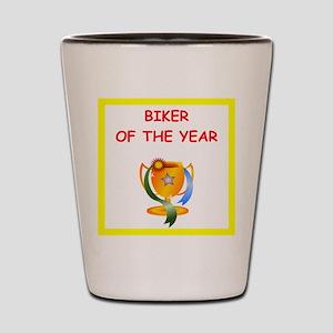 biker Shot Glass