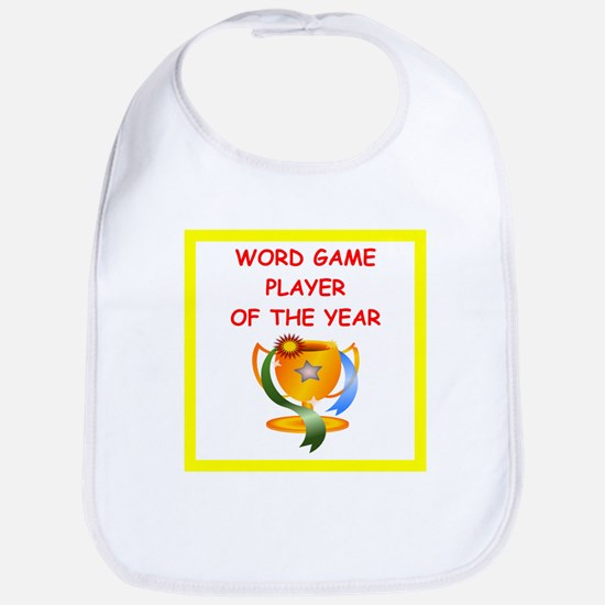 word games Bib