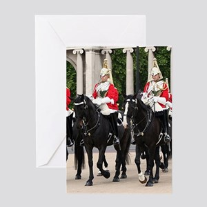 Royal Household Cavalry, London, En Greeting Cards