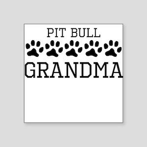 Pit Bull Grandma Sticker