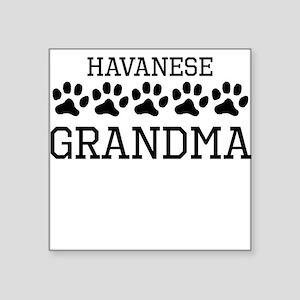 Havanese Grandma Sticker