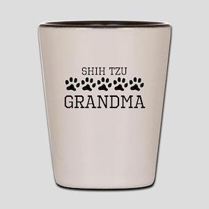 Shih Tzu Grandma Shot Glass