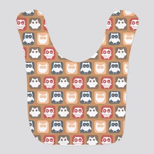 Cute and Lovely Owls Pattern Bib