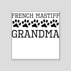 French Mastiff Grandma Sticker