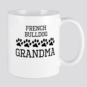 French Bulldog Grandma Mugs
