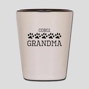 Corgi Grandma Shot Glass