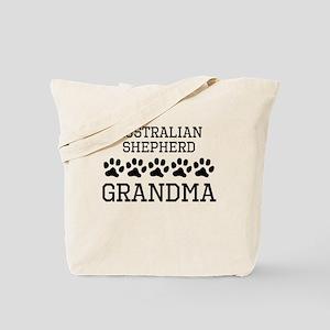 Australian Shepherd Grandma Tote Bag