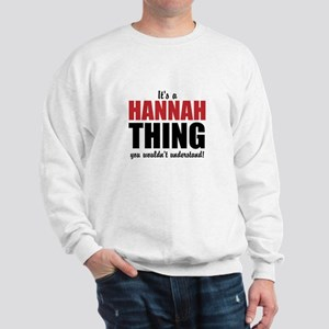Its a Hannah Thing Sweater