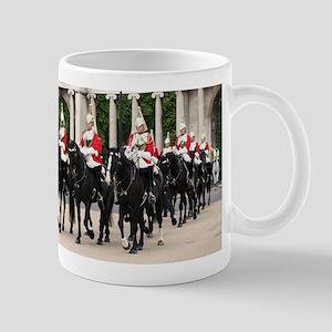 Royal Household Cavalry, London, England Mugs