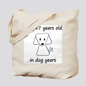 21 dog years 6 Tote Bag