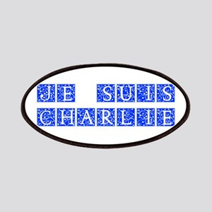 Je suis Charlie-Ana blue Patches