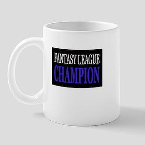 """Fantasy League Champion"" Mug"