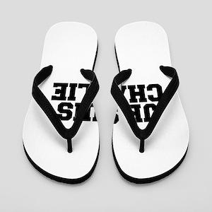 Je suis Charlie-Fre black Flip Flops