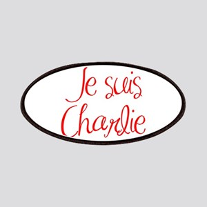 Je suis Charlie-MAS red Patches
