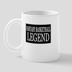"""""""Fantasy Basketball Legend"""" Mug"""