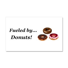 Fueled by Donuts Car Magnet 20 x 12