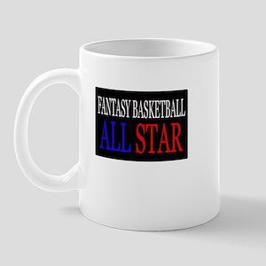 """Fantasy Basketball All Star"" Mug"
