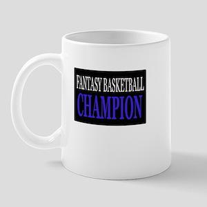"""Fantasy Basketball Champion"" Mug"
