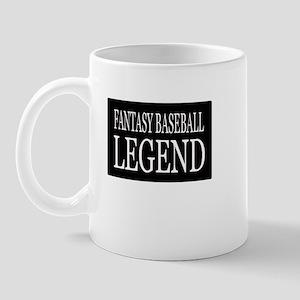 """Fantasy Baseball Legend"" Mug"