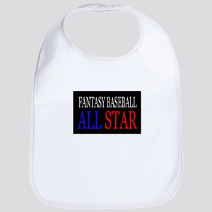 """Fantasy Baseball All Star"" Bib"
