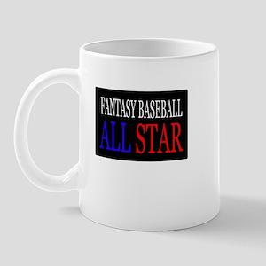 """Fantasy Baseball All Star"" Mug"