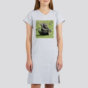 Lovely Gorilla Baby Women's Nightshirt