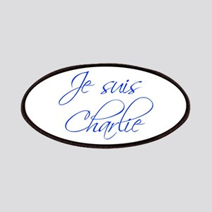 Je suis Charlie-Scr blue Patches