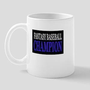 """""""Fantasy Baseball Champion"""" Mug"""