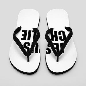 Je suis Charlie-Imp black Flip Flops