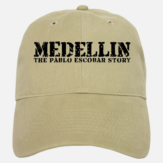 Medellin - The Pablo Escobar Story Baseball Baseball Cap