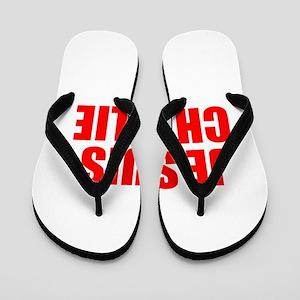 Je suis Charlie-Imp red Flip Flops