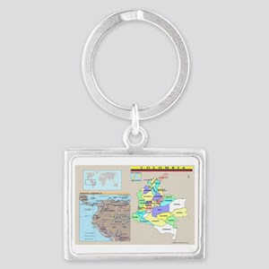 Colombia location Keychains