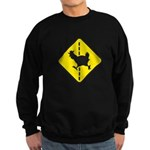 Chicken Road Crossing Sweatshirt