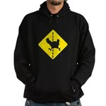 Chicken Road Crossing Hoodie