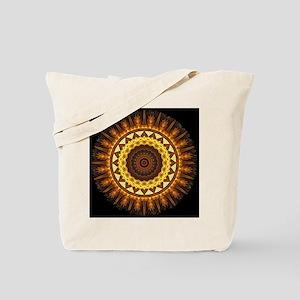 del Sol Mandala Tote Bag
